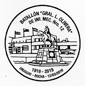 乌拉圭2019年上半年纪念邮戳欣赏